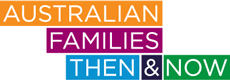 Australian Families Then and Now logo