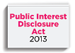 Public Interest Disclosure Act 2013 - image tile