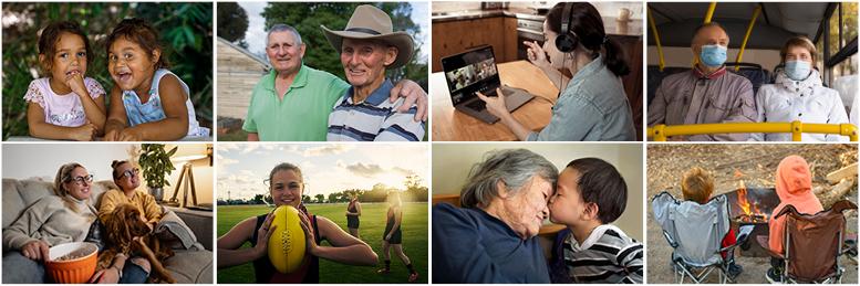 Families in Australia Survey montage